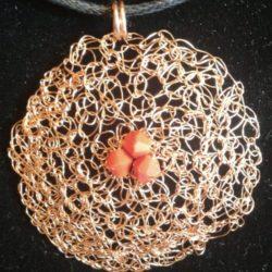 Tecnica Wire Crochet - Artista Giusy Farris