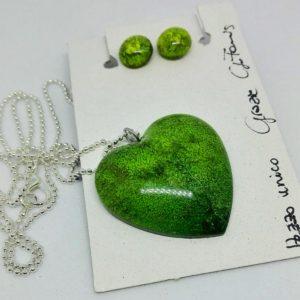 Parure Amore 1 verde